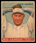 1934 World Wide Gum #44  Jesse Haines  Front Thumbnail