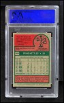 1975 Topps Mini #160  Graig Nettles  Back Thumbnail