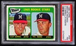 1965 Topps #461   -  Phil Niekro / Clay Carroll Braves Rookies Front Thumbnail