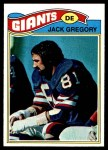 1977 Topps #519  Jack Gregory  Front Thumbnail