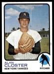 1973 Topps #634  Alan Closter  Front Thumbnail