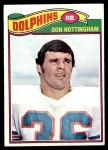 1977 Topps #492  Don Nottingham  Front Thumbnail