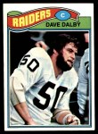 1977 Topps #511  Dave Dalby  Front Thumbnail