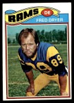 1977 Topps #513  Fred Dryer  Front Thumbnail