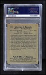 1939 Play Ball #139  Vito Tamulis  Back Thumbnail