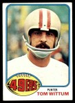 1976 Topps #513  Tom Wittum  Front Thumbnail