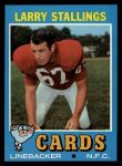 1971 Topps #93  Larry Stallings  Front Thumbnail