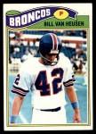 1977 Topps #497  Bill Van Heusen  Front Thumbnail