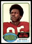 1976 Topps #520  Mel Gray  Front Thumbnail