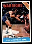 1975 Topps #100  Rick Barry  Front Thumbnail