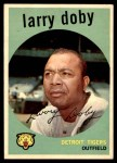 1959 Topps #455  Larry Doby  Front Thumbnail