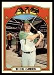 1972 Topps #780  Dick Green  Front Thumbnail