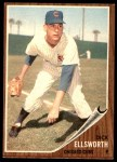 1962 Topps #264  Dick Ellsworth  Front Thumbnail