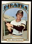 1972 Topps #785  Vic Davalillo  Front Thumbnail