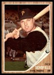 1962 Topps #484  Dick Schofield  Front Thumbnail
