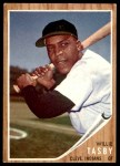1962 Topps #462 xEMB Willie Tasby   Front Thumbnail