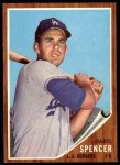 1962 Topps #197  Daryl Spencer  Front Thumbnail