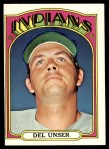 1972 Topps #687  Del Unser  Front Thumbnail