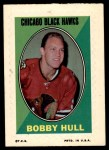 1970 Topps O-Pee-Chee Sticker Stamps #14  Bobby Hull  Front Thumbnail