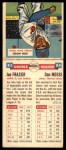 1955 Topps Double Header #83 #84 Joe Frazier / Don Mossi  Back Thumbnail