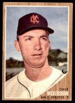 1962 Topps #517  Dave Wickersham  Front Thumbnail