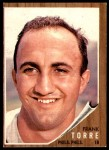 1962 Topps #303  Frank Torre  Front Thumbnail