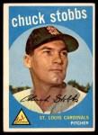 1959 Topps #26  Chuck Stobbs  Front Thumbnail