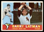 1960 Topps #41  Barry Latman  Front Thumbnail