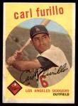 1959 Topps #206  Carl Furillo  Front Thumbnail