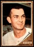 1962 Topps #332  Don Buddin  Front Thumbnail