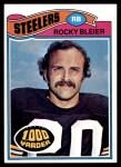 1977 Topps #281  Rocky Bleier  Front Thumbnail