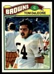 1977 Topps #283  Tom DeLeone  Front Thumbnail