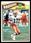 1977 Topps #259  Brian Sipe  Front Thumbnail