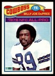 1977 Topps #260  Billy Joe DuPree  Front Thumbnail