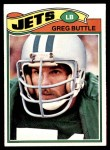 1977 Topps #186  Greg Buttle  Front Thumbnail