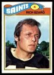 1977 Topps #182  Rich Szaro  Front Thumbnail