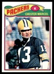 1977 Topps #323  Chester Marcol  Front Thumbnail