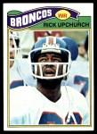 1977 Topps #301  Rick Upchurch  Front Thumbnail