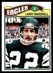 1977 Topps #262  Larry Marshall  Front Thumbnail