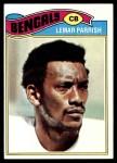 1977 Topps #325  Lemar Parrish  Front Thumbnail