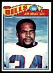 1977 Topps #252  Jim Braxton  Front Thumbnail