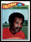 1977 Topps #242  Rolland Lawrence  Front Thumbnail
