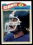 1977 Topps #175  Brad Van Pelt  Front Thumbnail
