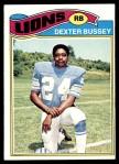 1977 Topps #176  Dexter Bussey  Front Thumbnail