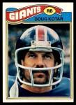 1977 Topps #324  Doug Kotar  Front Thumbnail