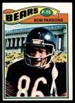 1977 Topps #164  Bob Parsons  Front Thumbnail