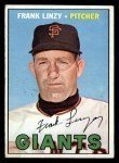 1967 Topps #279  Frank Linzy  Front Thumbnail
