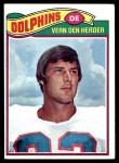 1977 Topps #233  Vern Den Herder  Front Thumbnail