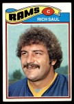 1977 Topps #246  Rich Saul  Front Thumbnail