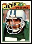 1977 Topps #186  Greg Buttle  Front Thumbnail